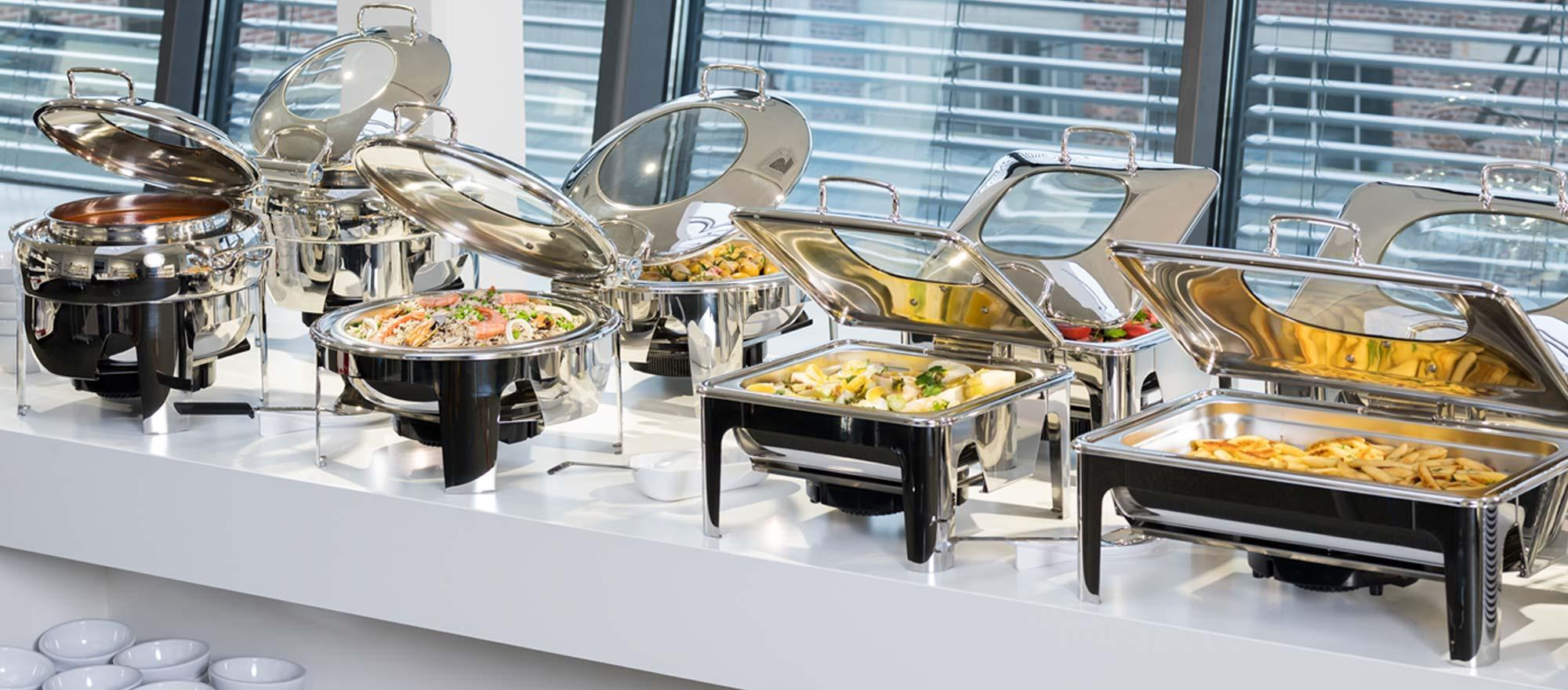 Chafing dish, GN bacs & Transport
