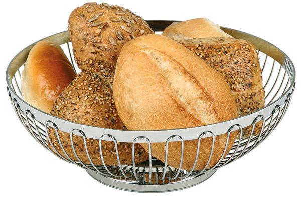 corbeille à pain ou à fruits 18 x 18 x 7 cm