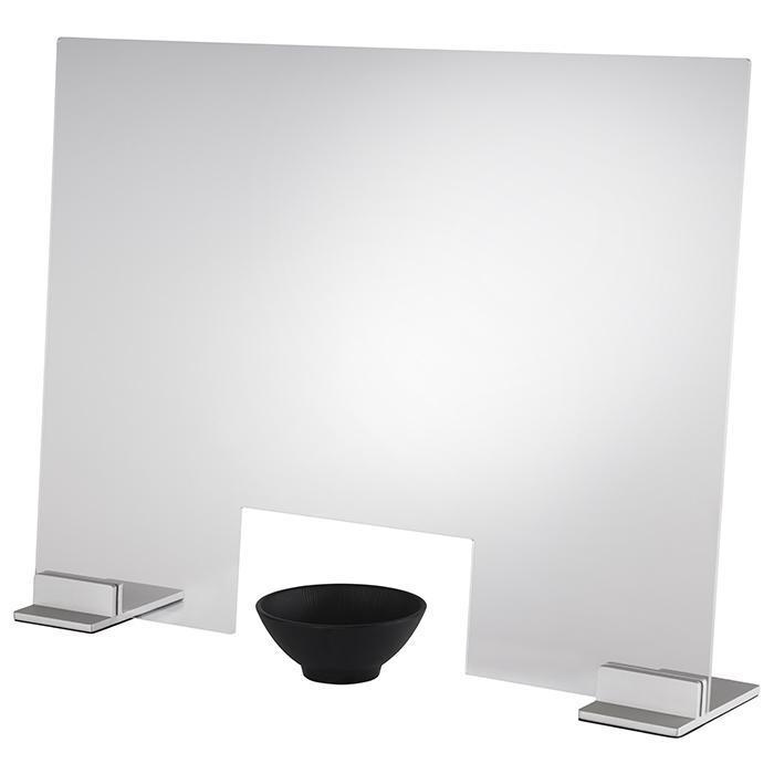 pare-haleine transparent, gris