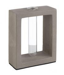 """vase soliflor avec verre """"ELEMENT"""""""