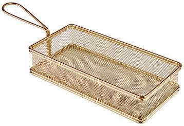paniers inox pour le service sur table 21,5 x 10,5 x 4,5 cm