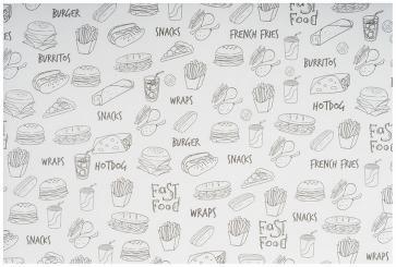 papier alimentaire pour cornet