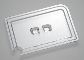 couvercle avec encoche pour la cuillère 22 x 14,5 x 2 cm